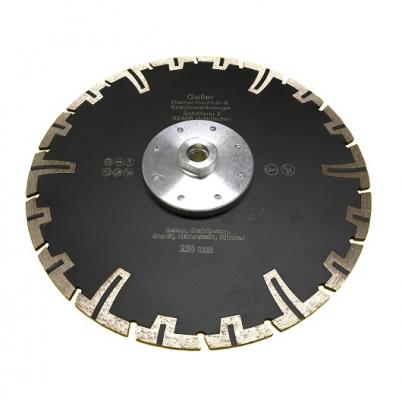 Diamanttrennscheiben mit Flansch 50-230mm