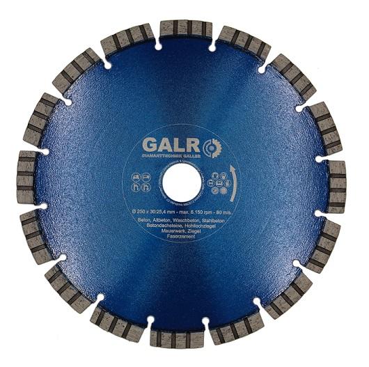 Diamanttrennscheibe Beton Universal Profi 200-250mm