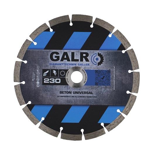 GALR Diamanttrennscheibe Beton Universal Profi 230mm