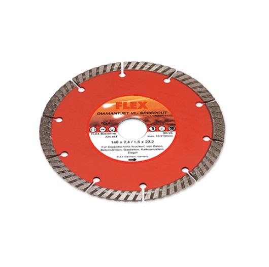 Wundervoll FLEX Diamantjet VI-Speedcut Trennscheibe 140mm Universal (334464) AH57