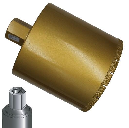 Diamanttrockenbohrkrone Kaminrohr 1 1/4 Premium 132-200mm