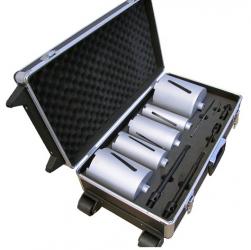 Diamanttrockenbohrkronen-Set Universal M16 11tlg. 52-132mm