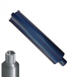 Diamanttrockenbohrkrone Universal 1 1/4 Länge 420mm Profi 52-200mm