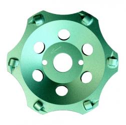 Diamantschleiftopf Bitumen Dickbeschichtungen PKD Premium 125-180mm
