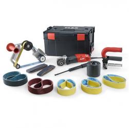 FLEX Satiniermaschine+Rohrbandschleifer BSE 14-3 INOX Set  (433454)