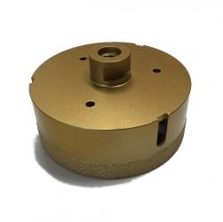 Bohrkrone für Winkelschleifer Feinsteinzeug Profi 125-150mm