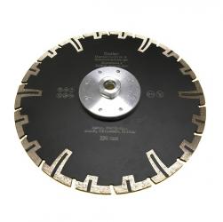 Diamanttrennscheiben-Set mit Flansch 125+230mm Beton Granit Klinker 2tlg.