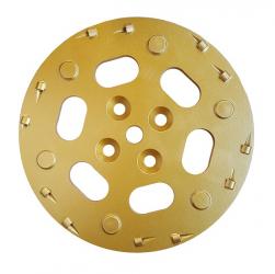 Diamant-Schleifteller PKD Beschichtungen Bodenschleifteller 250mm