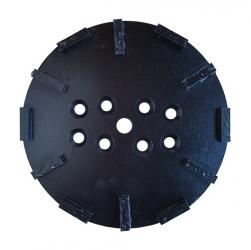PKD-Split-Schleifteller Beschichtungen Bodenschleifteller 250mm