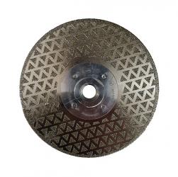 Diamanttrennscheibe mit Flansch GFK CFK Marmor Granit 125-230mm