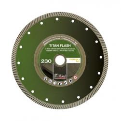 DIEWE Diamanttrennscheibe Titan Flash Feinsteinzeug-extrem Premium 115-350mm