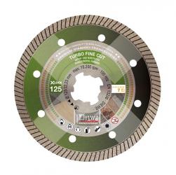 DIEWE Diamanttrennscheibe X-LOCK® Turbo Fine Cut Fliesen Premium 115-125mm