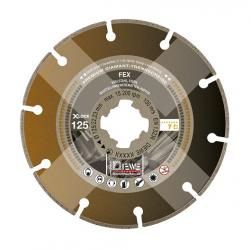 DIEWE Diamanttrennscheibe X-LOCK® FEX Edelstahl Eisen Premium 115-125mm