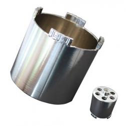 Diamant-Dosensenker M18x1,5 Mauerwerk Beton Absaugung Profi 68-82mm