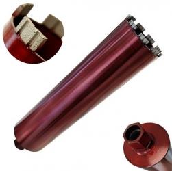 Diamantnassbohrkrone Stahlbeton Turbo 1 1/4 Premium 52-300mm
