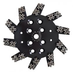 Diamant-Schleifteller Industriebeton Bodenschleifteller 250mm