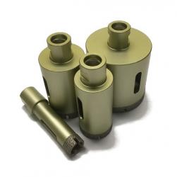 Bohrkrone für Winkelschleifer Feinsteinzeug Premium 18-120mm