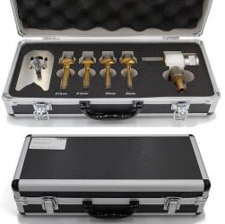 Diamantnassbohrkronen-Set Feinsteinzeug Naturstein 1/2 7tlg. Premium 6-14mm