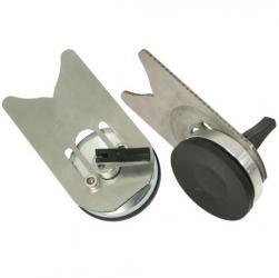 Anbohrhilfe Edelstahl mit Saugfuß 6-20mm