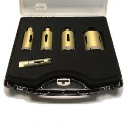 Bohrkrone für Winkelschleifer-Set Feinsteinzeug Premium 6tlg. 20-68mm